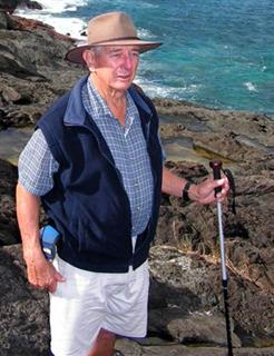 Fearless Leader on Lord Howe Island
